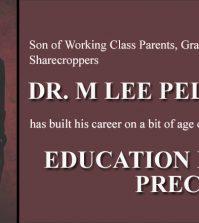 Dr. M. Lee Pelton
