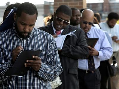 Black unemployment has had minimal improvement despite economic growth