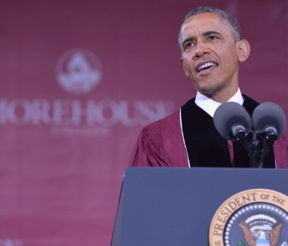 President Obama at Morehouse College Commencement