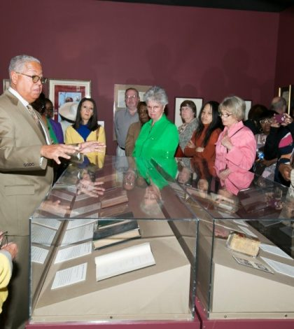 The Kinsey Collection opening weekend drew large crowds at the Atlanta History Center as the Kinsey family and Wells Fargo celebrated the launch of the extended African American History tour. Photo provided courtesy of Jennifer Boxley ©