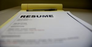 Build your resume writing skills